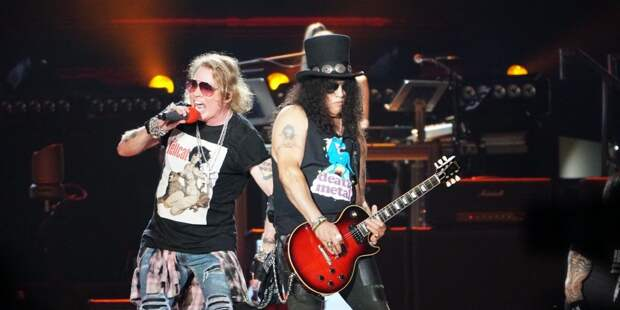 Guns N' Roses впервые за 27 лет выступили с хитом So fine