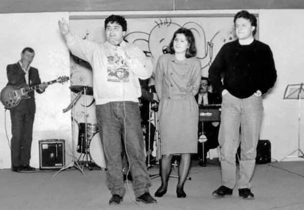 Георгий Галустьян, Леся Башева и Сергей Супонев