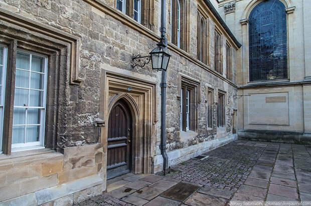 Прогулка по рождественскому Оксфорду