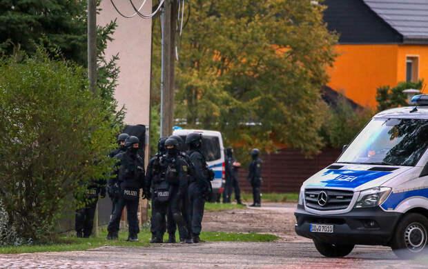В немецком городе Галле произошла стрельба