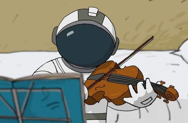 Мультфильм «Он не может жить без космоса» получил главный приз премии «Икар»