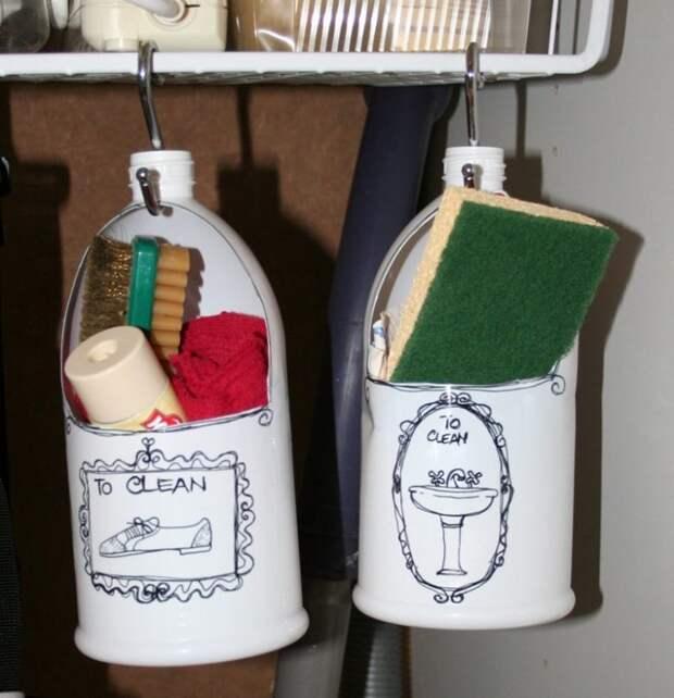 11 полезных идей применения флаконов из под шампуня