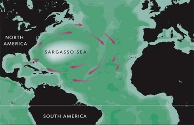 Почему в Бермудском треугольнике пропадают корабли и самолёты