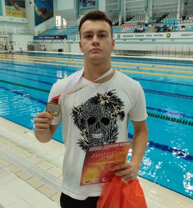 Школьник из Куркина стал чемпионом России по плаванию