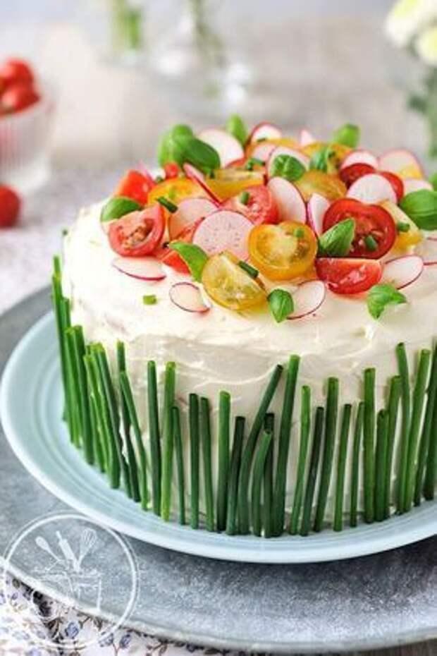 Закусочный тортик