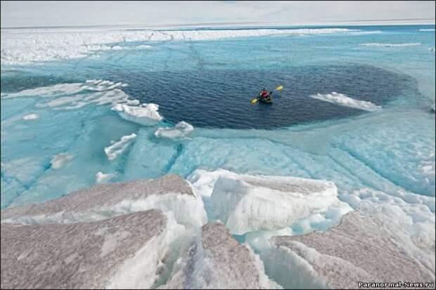 Глобальное потепление: В одном месте затопит, а в другом будет новая суша