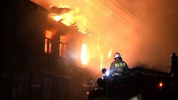 Открытое горение после взрыва дома под Нижним Новгородом ликвидировано