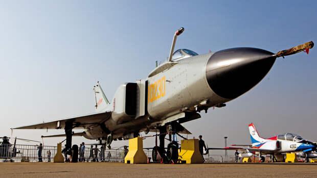 Китайский истребитель J-8DF