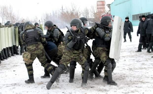 Тюремный спецназ: рота приходит когда обычные охранники не справляются
