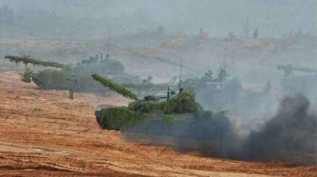 Танкисты ЗВО прошли контрольную проверку боеготовности