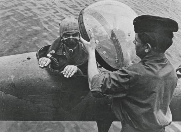 Боевые пловцы кригсмарине: первая кровь