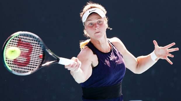 Самсонова проиграла Мугурусе и вылетела с Australian Open