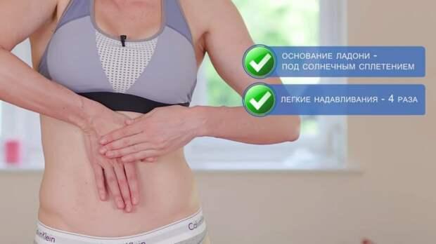 Массаж для похудения живота с реальным результатом
