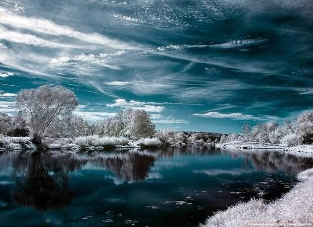 Инфракрасная фотография (30фото)