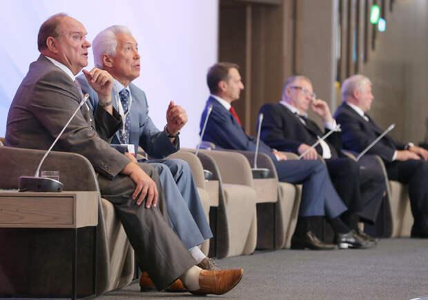 Лидеры думских фракций навстрече вЯлте были настроены менее миролюбиво, чем президент