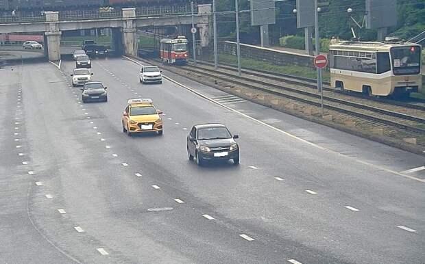 Движение транспорта в Краснодаре восстановлено