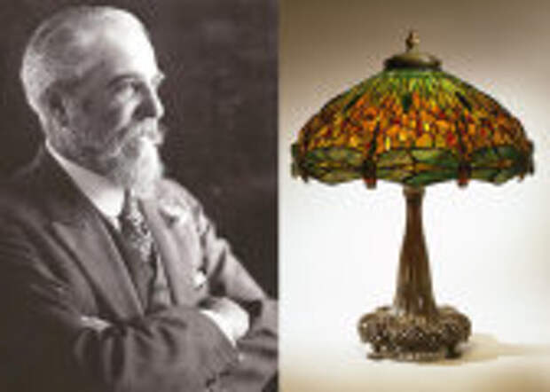 Интерьер: Эксклюзив из стекла и меди: Как сын знаменитого ювелира Тиффани покорил мир цветными абажурами