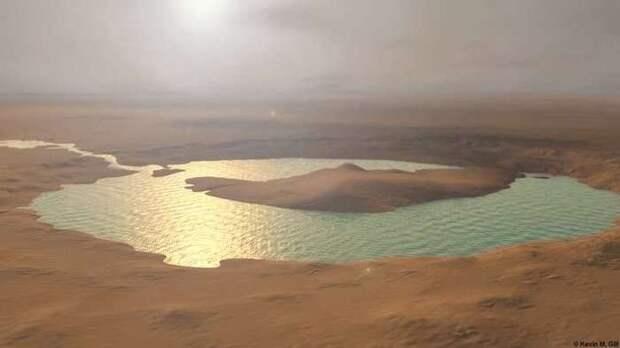 Новые свидетельства того, что на Марсе существовал океан Марс, Вода на Марсе, MRO, Длиннопост
