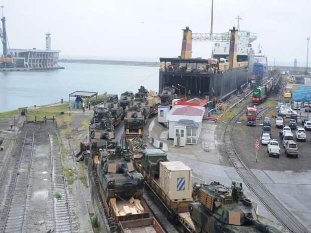 Военный порт Поти, Грузия. Источник изображения: