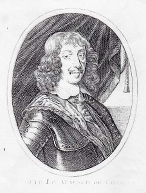 Предполагаемый портрет Жюля Луи Боле де Шамле. bernard-richard-histoire.com - Архитектор побед Короля-Солнца   Warspot.ru
