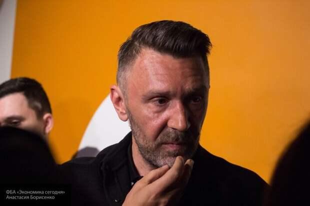 Российский музыкант Шнуров назвал Донбасс частью Украины, но замялся с ответом по Крыму
