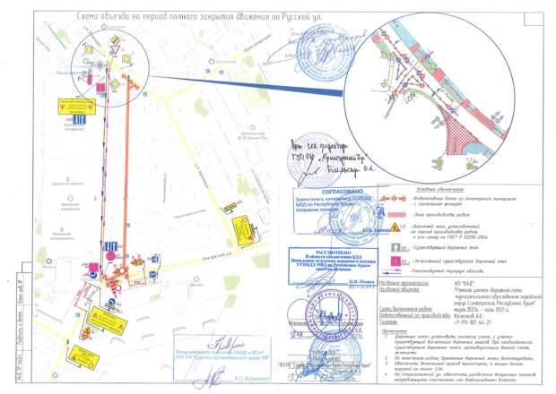 В Симферополе на 2 дня перекроют улицу Русскую