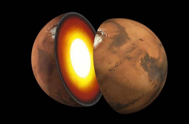 Зонд NASA впервые реализует «портрет» внутреннего строения Марса
