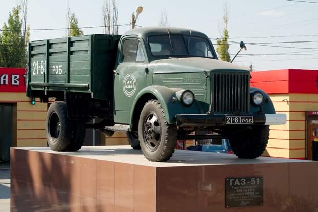 ГАЗ-51- самый популярный грузовик 1950-60-х годов в СССР
