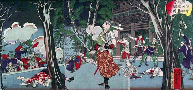 Кондо Исами в битве при Куцунаме jacar.go.jp - Кровавые вехи войны Босин   Военно-исторический портал Warspot.ru
