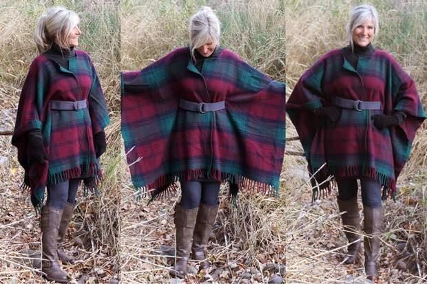 Сногшибательные модели пальто из одного куска ткани!