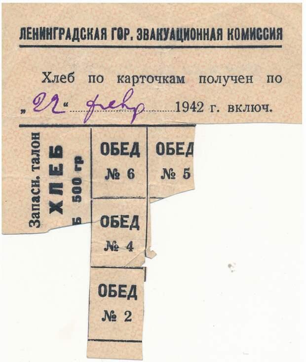 Ленинград, 1942 год. «Используйте для питания прибрежную и водную растительность»