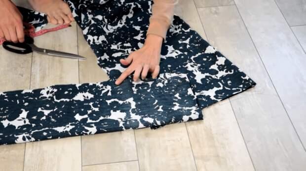 Платье без выкройки не хуже, чем из магазина