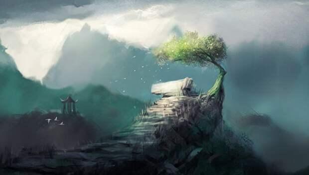 Притча о взгляде на мир притчи, сказки