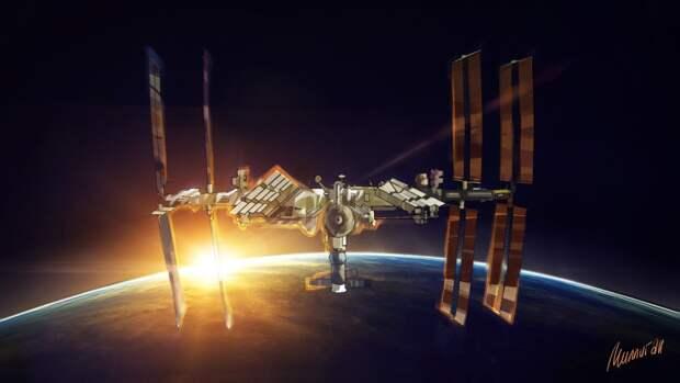 В NASA допустили эксплуатацию МКС после 2028 года