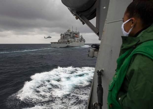 """""""Демонстрация мощи"""" в Южно-Китайском море"""