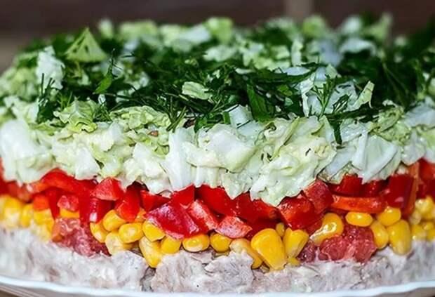 Вкуснейшие праздничные салаты
