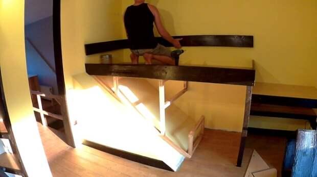 Кровать для сына своими руками
