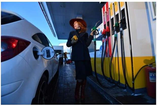 Россия заняла второе место в Европе по дешевизне бензина