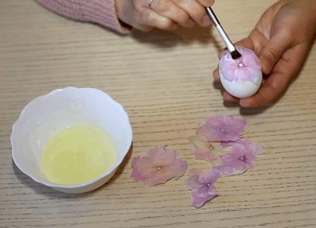 Совет, как окрасить яйца, не используя краситель