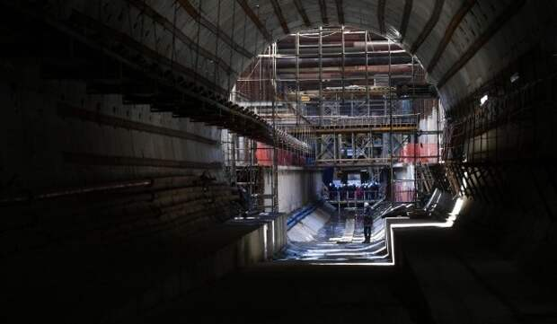 Пройден седьмой тоннель на Троицкой линии метро
