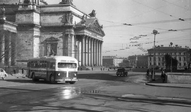 Ленинград в 1950 году