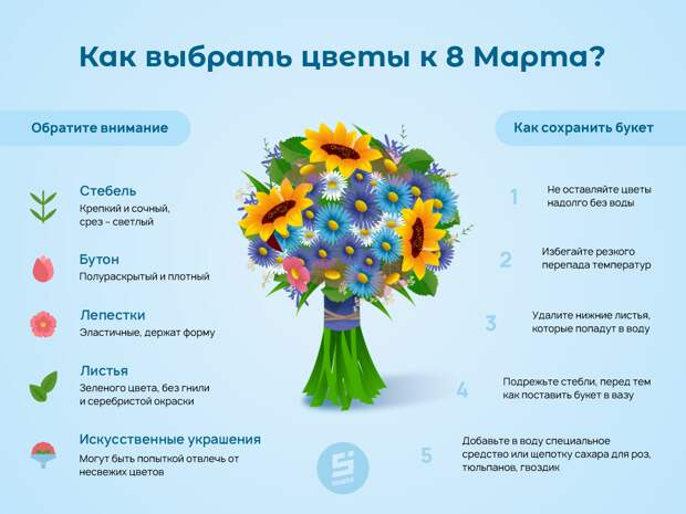 Стебель, бутон, лепестки: на что обратить внимание жителям Удмуртии при покупке цветов