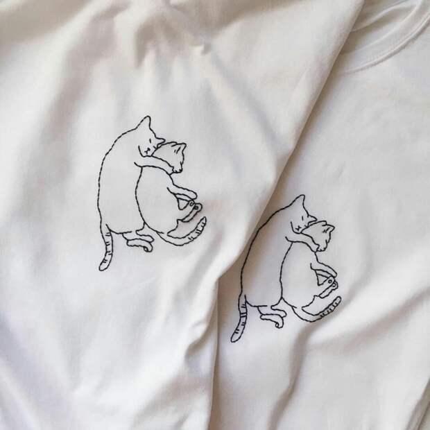 Идея парных футболок