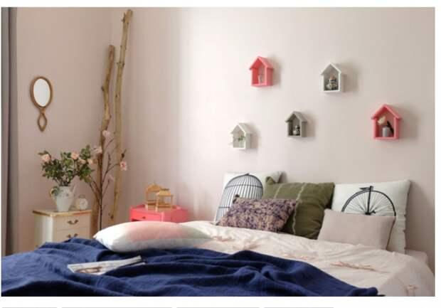 как украсить спальню и детскую комнату необычно