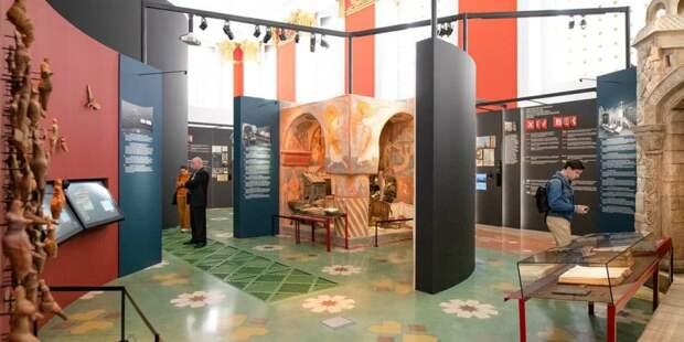 Сергунина: Музеи ВДНХ готовят тематические программы ко Дню экскурсовода. Фото: Д. Гришкин mos.ru