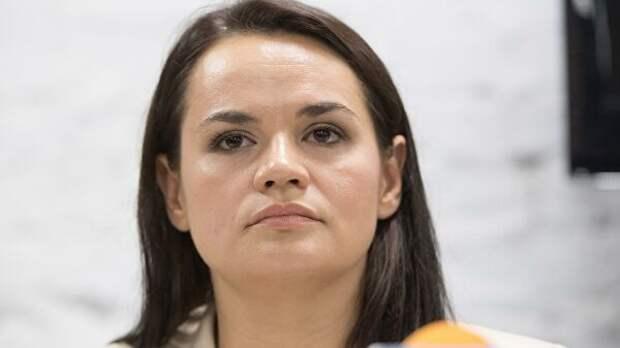 """Тихановская заявила, что протесты в Белоруссии """"не стухли"""""""