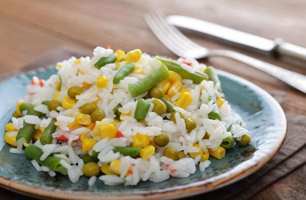 Жарим рис с яйцом и мясом: блюда из риса вкусные как плов