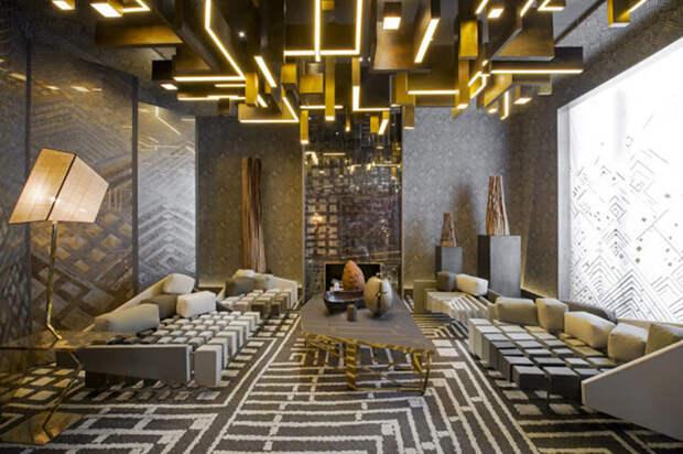 Потолок, как один из элементов общей композиции