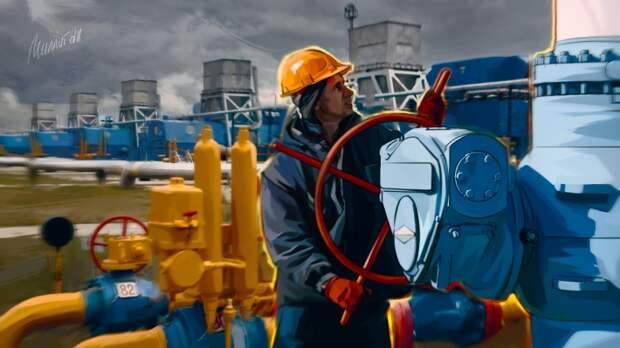Украинская ГТС производит огромное количество выбросов