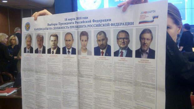 За Грудинина 82 процента, за Путина - 11. Результаты голосования 180 тысяч человек